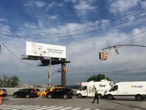 Siggi yogurt billboard