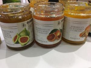 Sicilian fruit condiments