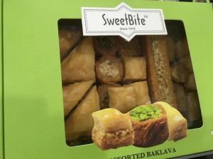 Great baklava for retail
