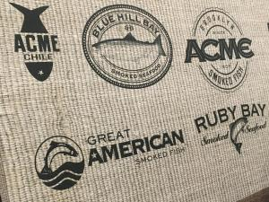 Vintage food logos