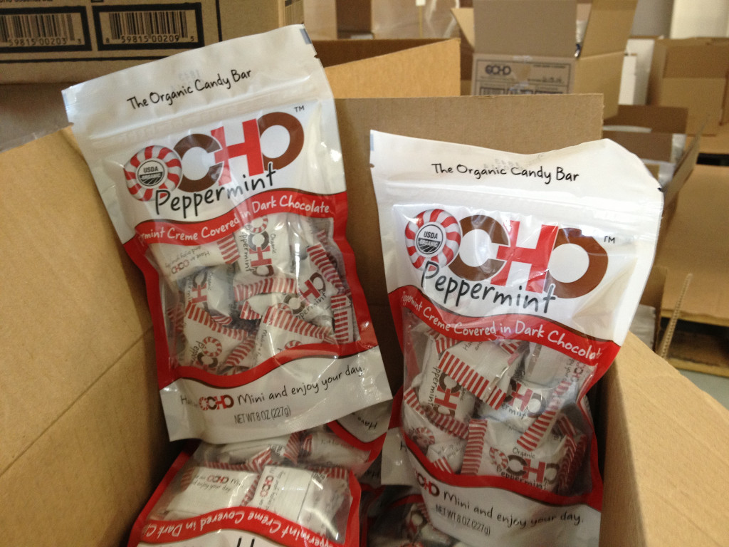 Ocho Candy makes its organic candy at their Oakland factory