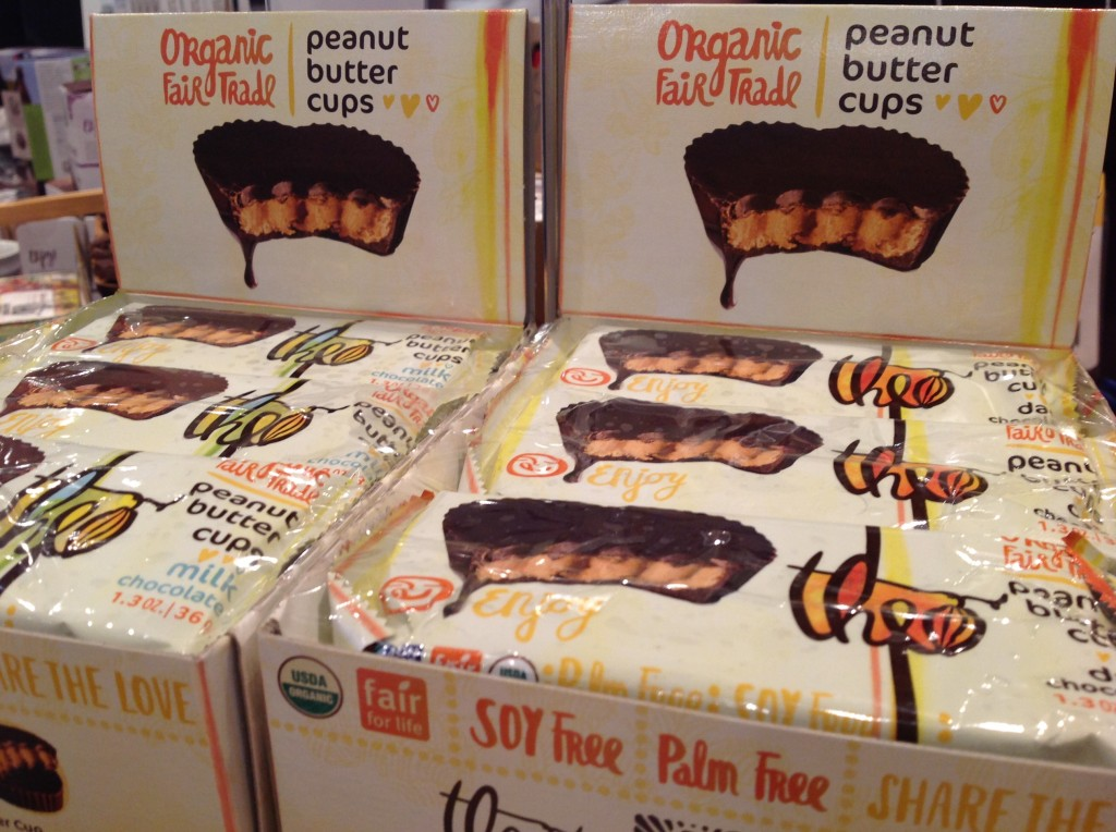 Organic Fair Trade Peanut Butter Cups by Theo Chocolate