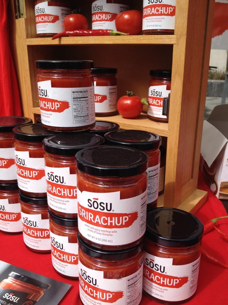 Sosu Srirachup sriracha ketchup