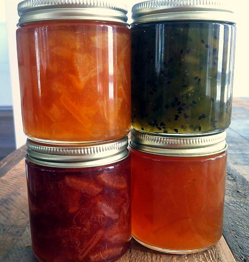 Saba seasonal jam is a part-time business