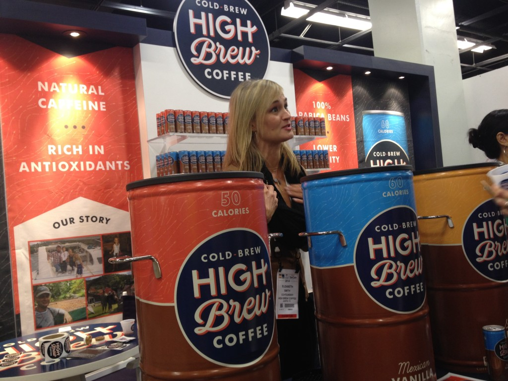 High Brew coffee at ExpoWest