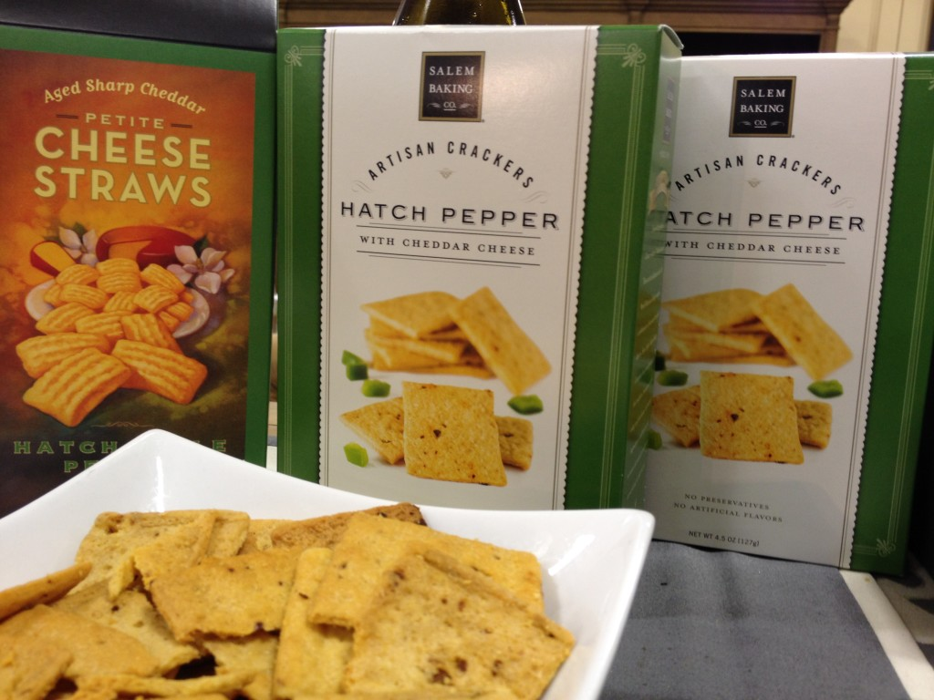 Hatch pepper crackers