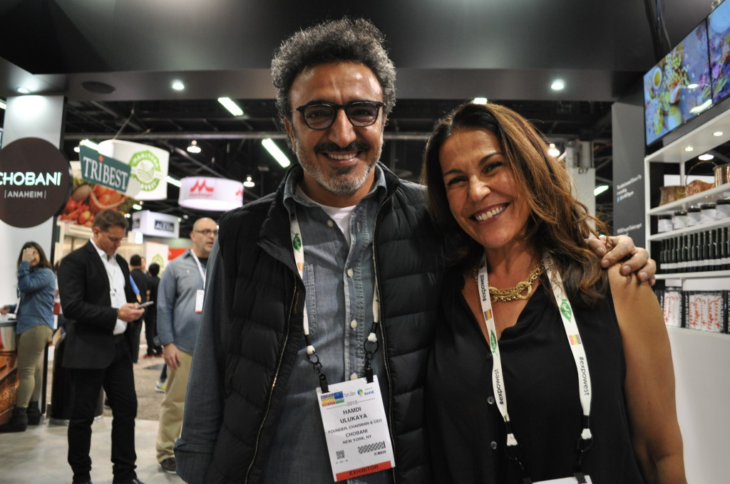 Chobani Yogurt founder Hamdi Ulukaya at Expo West