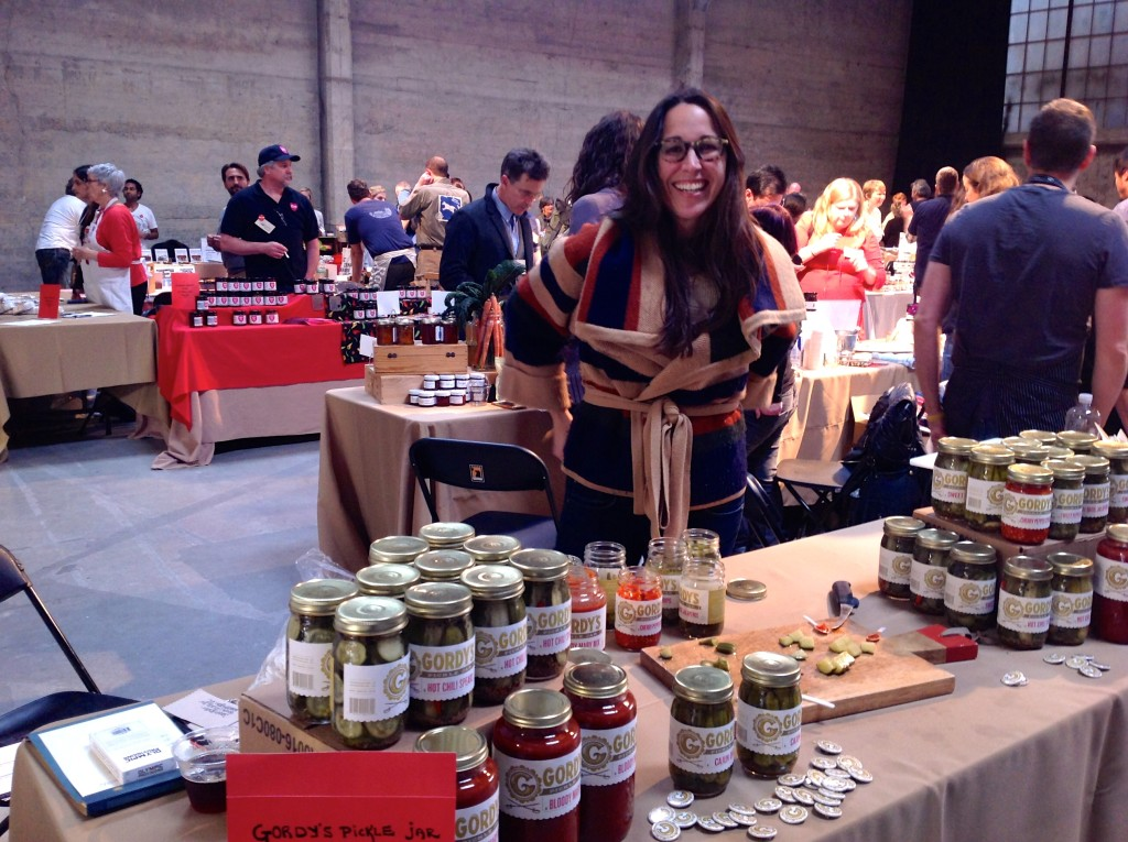 Gordy's Pickle Jar at Good Food Mercantile 2015