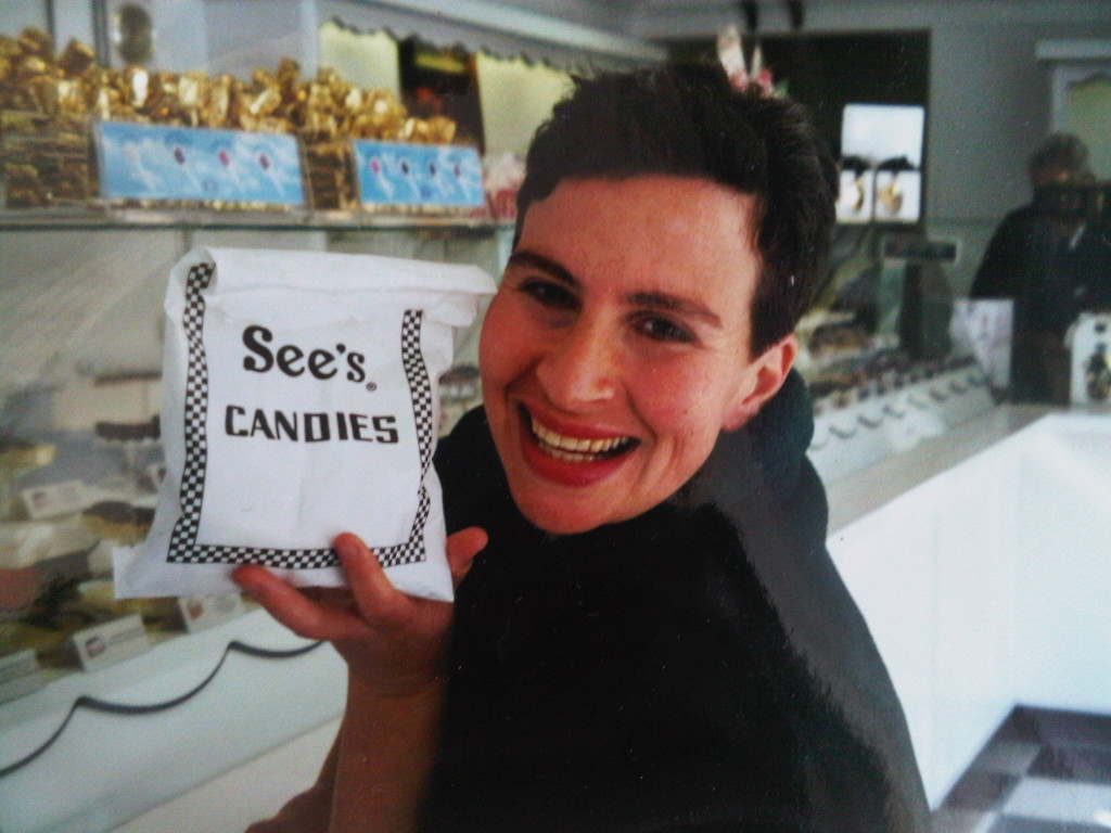 Inside a See's Candies store