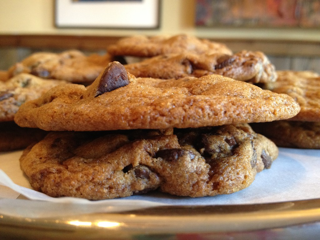an amazing chocolate chip cookie