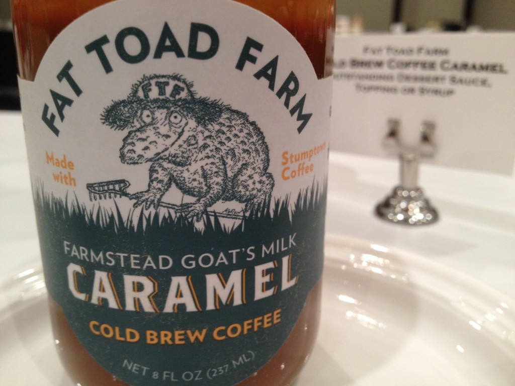 Fat Toad Farm sofi award winning caramel