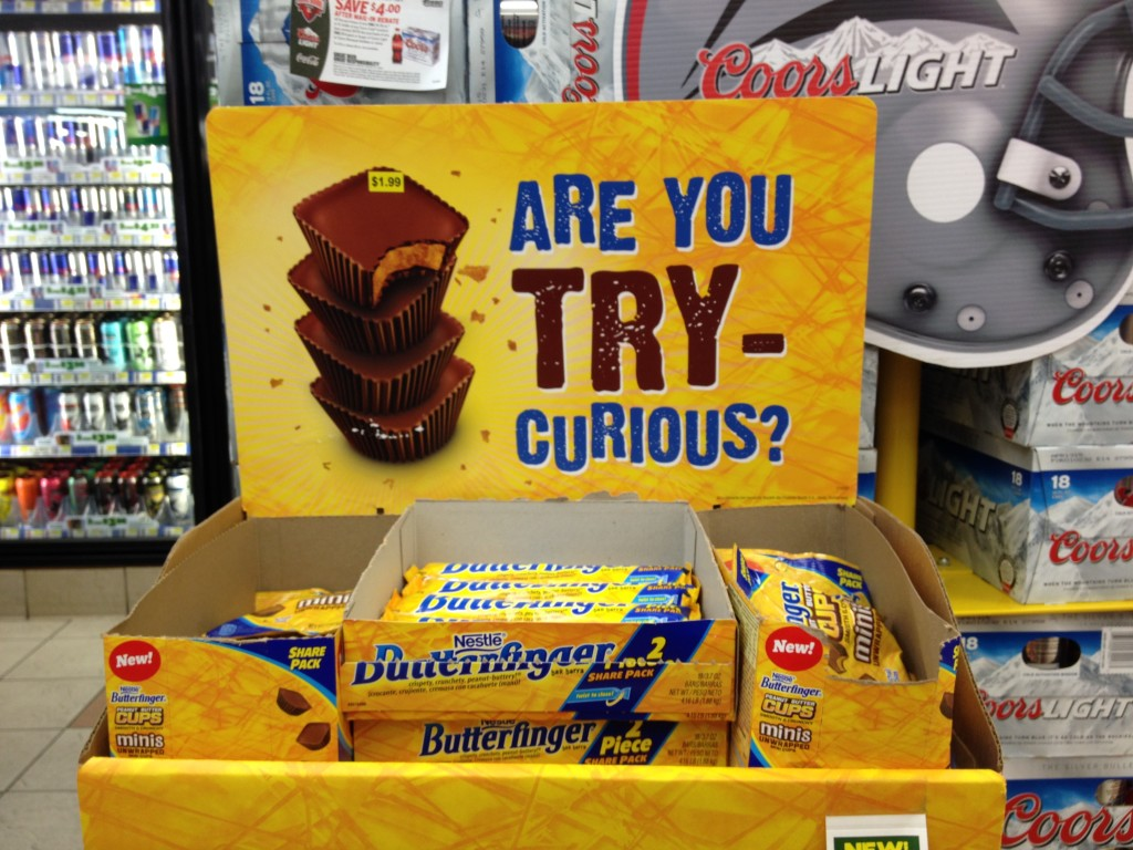 convenience store butterfinger pos