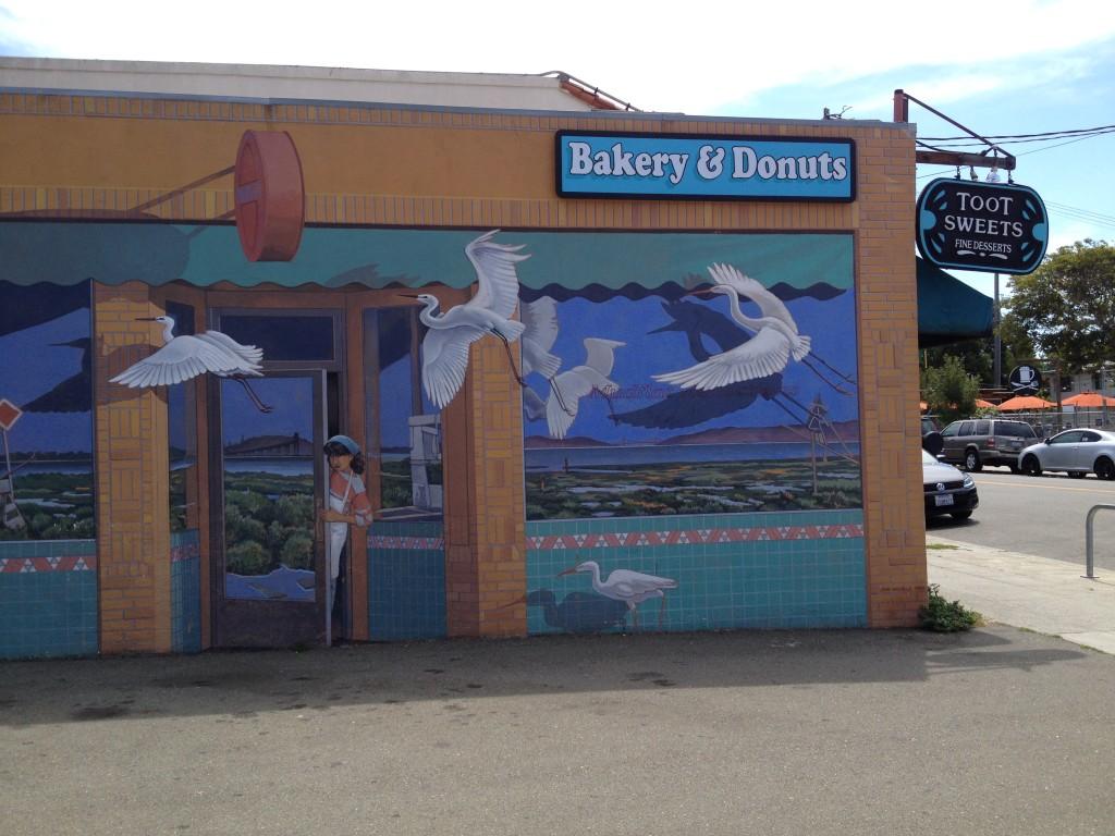 berkeley bakery mural