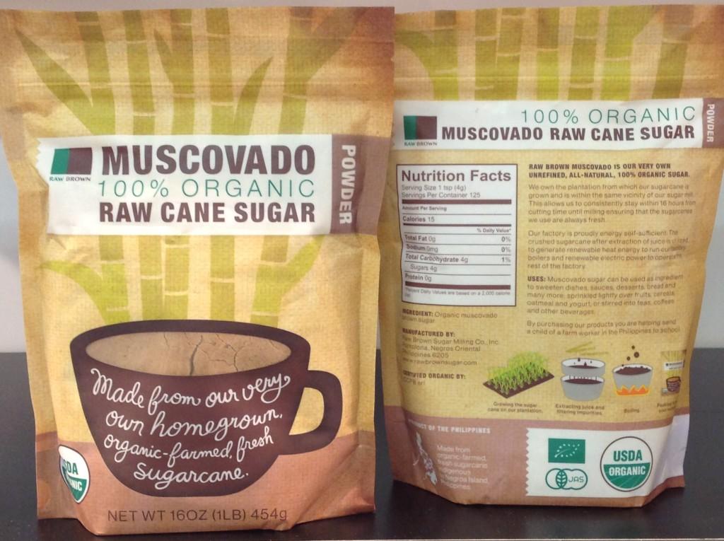 Raw Brown Sugar Milling Company muscovado sugar