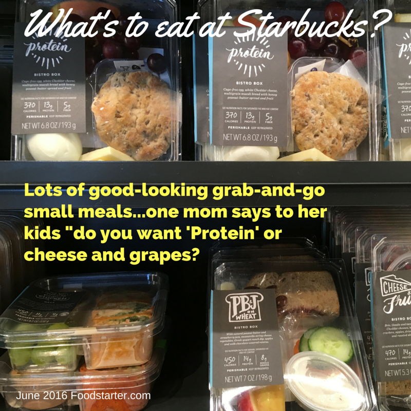 starbucks grab and go small meals