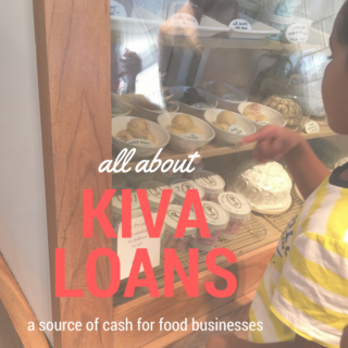 food business startup funding with Kiva loans