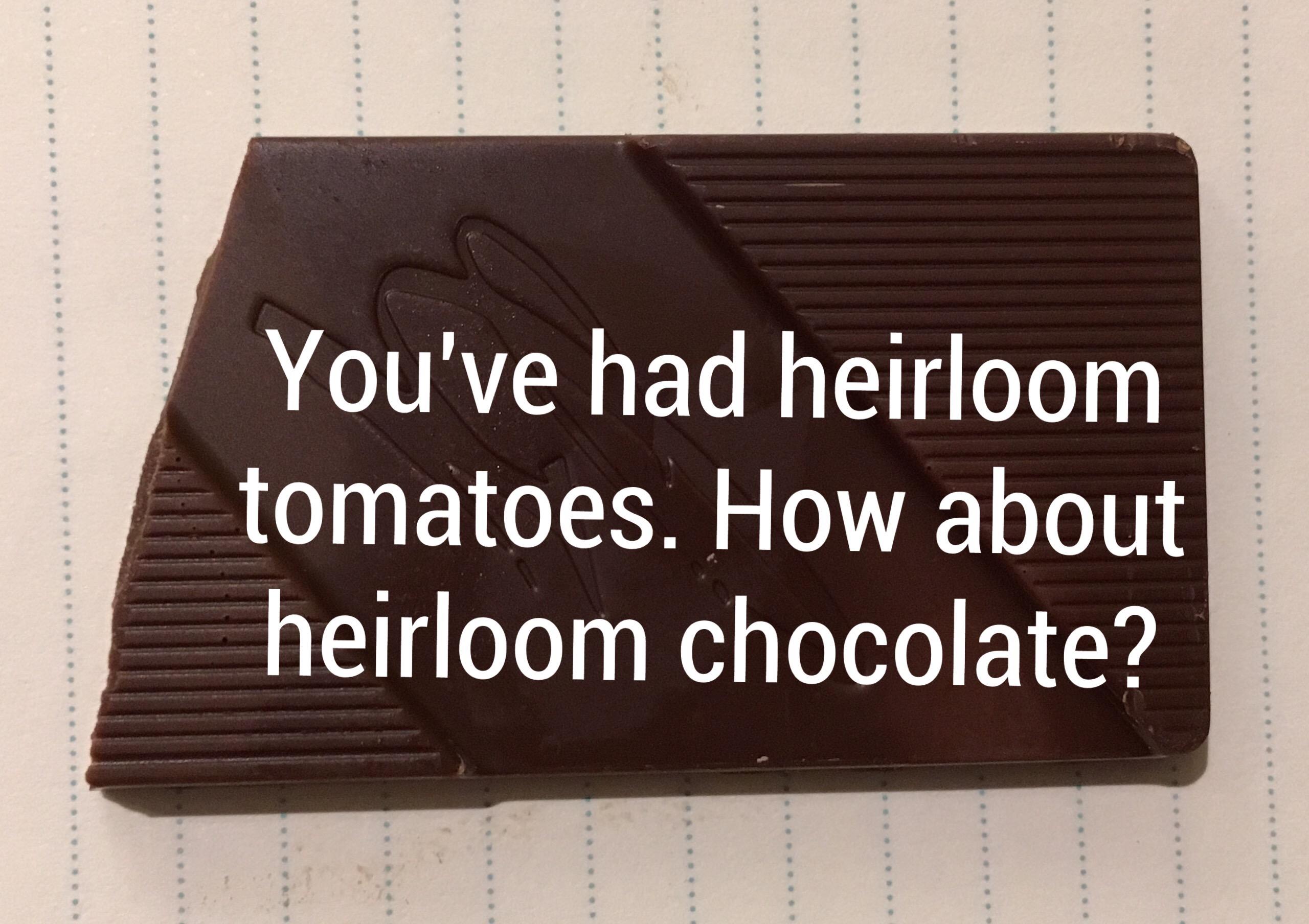 Tasty Heirloom Chocolate Varieties: The Next Thing in Terroir ...