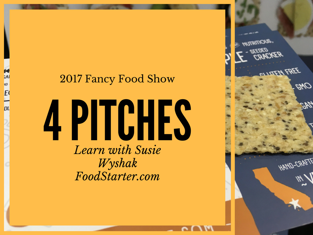 successful specialty food business pitches