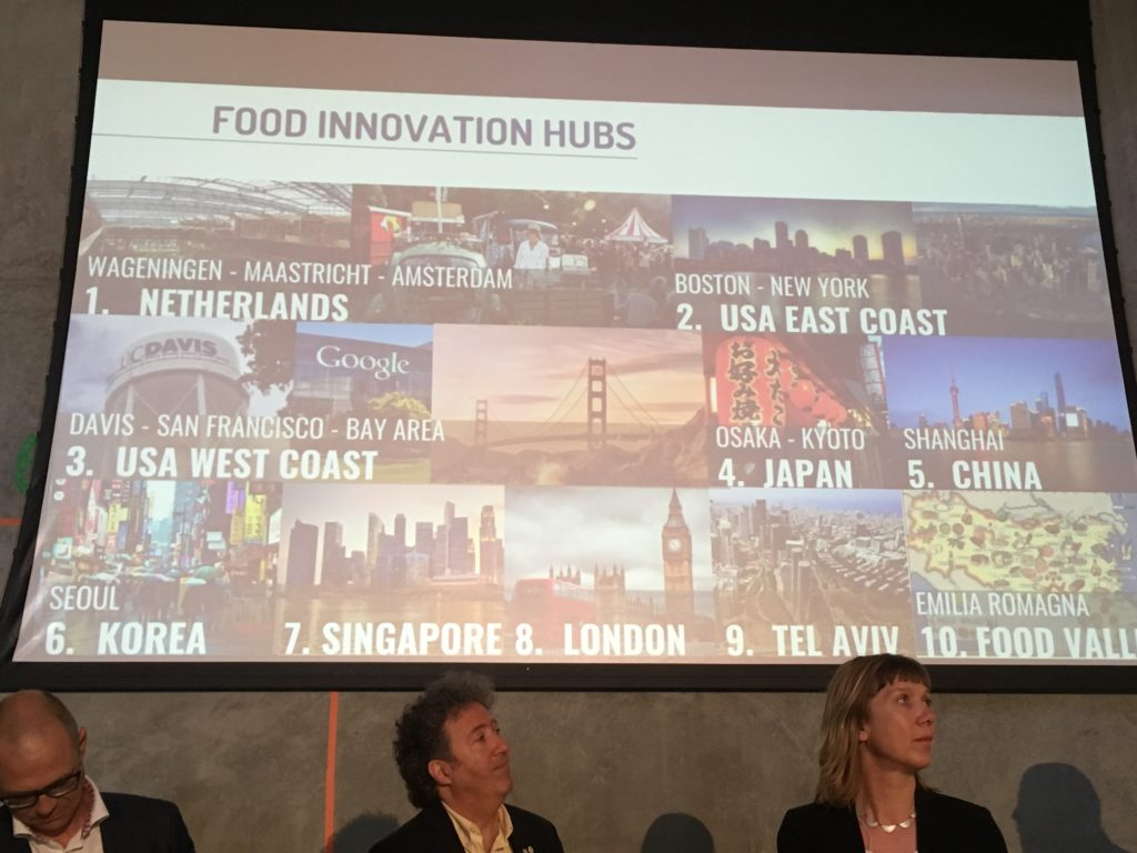 food innovation hubs around the world